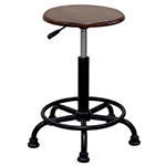 Studio Designs 13307 - Retro Stool - Rustic Oak ES6349