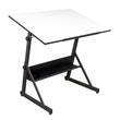 Studio Designs 13344 - Solano Adjustable Drafting Table (Charcoal - White) ES6360