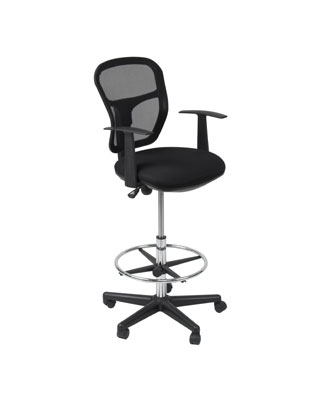 Studio Designs 18620 - Riviera Drafting Chair - Black