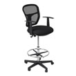 Studio Designs 18620 - Riviera Drafting Chair - Black ES6372