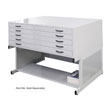 "Studio Designs 60735 - Flat File 46"" Stand - Light Grey ES6397"