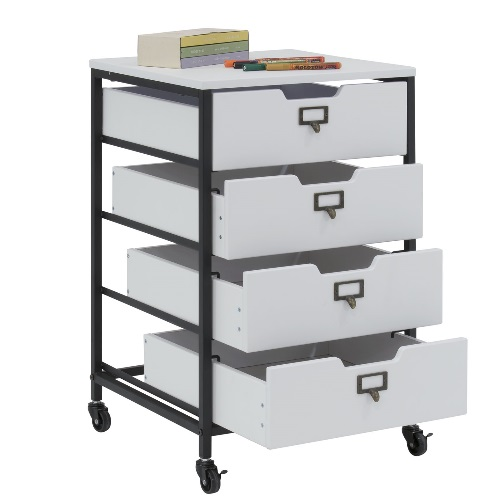 Studio Designs 10224-Charcoal/White - Sew Ready 4-Drawer Organizer