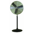 "TPI Commercial Circulator 24"" Pedestal Oscillating Fan - CACU24PO ES6465"