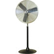 "TPI Commercial Circulator 30"" Pedestal Oscillating Fan - CACU 30-PO ES6467"