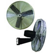 "TPI Commercial Circulator 24"" Wall Mount Oscillating Fan - CACU24WO ES6469"