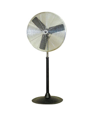 "TPI Corporation Commercial Circulator 30"" Heavy Duty Pedestal Fan - CACU 30-P-HD ES6472"