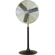 "TPI Commercial Circulator 30"" Heavy Duty Pedestal Oscillating Fan - CACU 30-PO-HD ES6473"