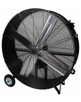 "TPI Commercial Belt Drive 42"" Portable Blower Fan - CPB 42-B ES6478"