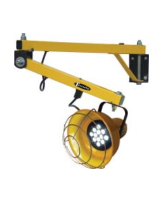TPI Loading Dock Lights - Fully Assembled Standard Duty Loading Dock Arms - DKL-40VA-LED ES6582
