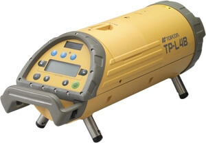 Topcon TP-L4B Red Beam Pipe Laser Package