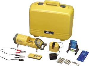 Topcon TP-L4G Green Beam Pipe Laser Package 57048