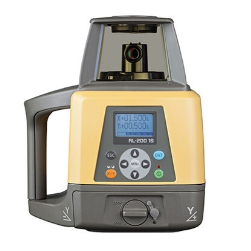 Topcon RL-200 1S Single Slope Rotary Laser Level Pro Package 314910782 ES4641