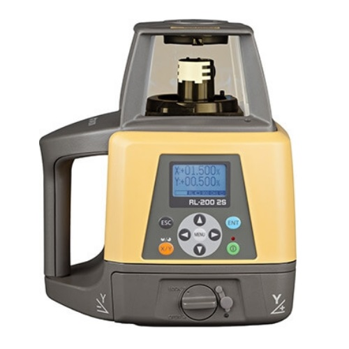 Topcon RL-200 2S Dual Slope Rotary Laser Level Standard Package 314920722