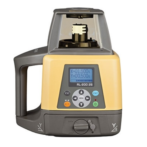 Topcon RL-200 2S Dual Slope Rotary Laser Level Pro Package 314920782