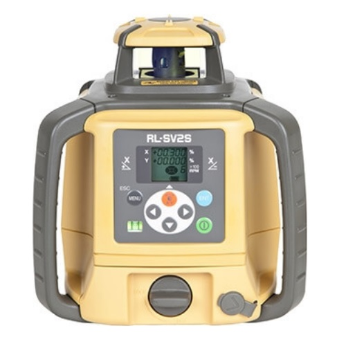 Lower Level Multi Purpose: Topcon RL-SV2S Multi-Purpose Rotary Laser Level Pro