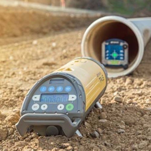 Topcon TP-L5B Pipe Laser Package (Red Beam) ES6169