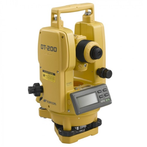 Topcon 7-Second Digital Theodolite DT-207L with Laser Pointer (303217121) ES8888
