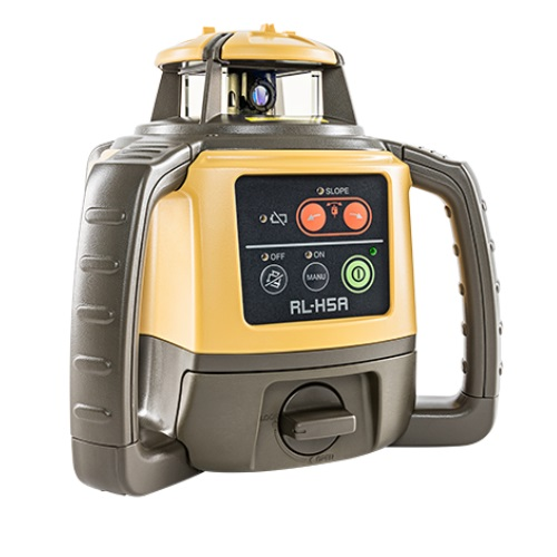 Topcon RL-H5A RB Rechargeable Horizontal Laser Level with LS-80L Receiver - 1021200-06 ES8986