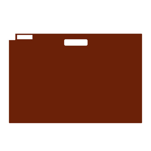 "Ulrich Flat File Folders for 24"" x 36"" Documents D2"
