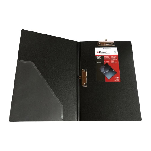 "Duraply 11"" x 17"" Folding Clipboard with Dual Clip (5 Pack) - 69845"