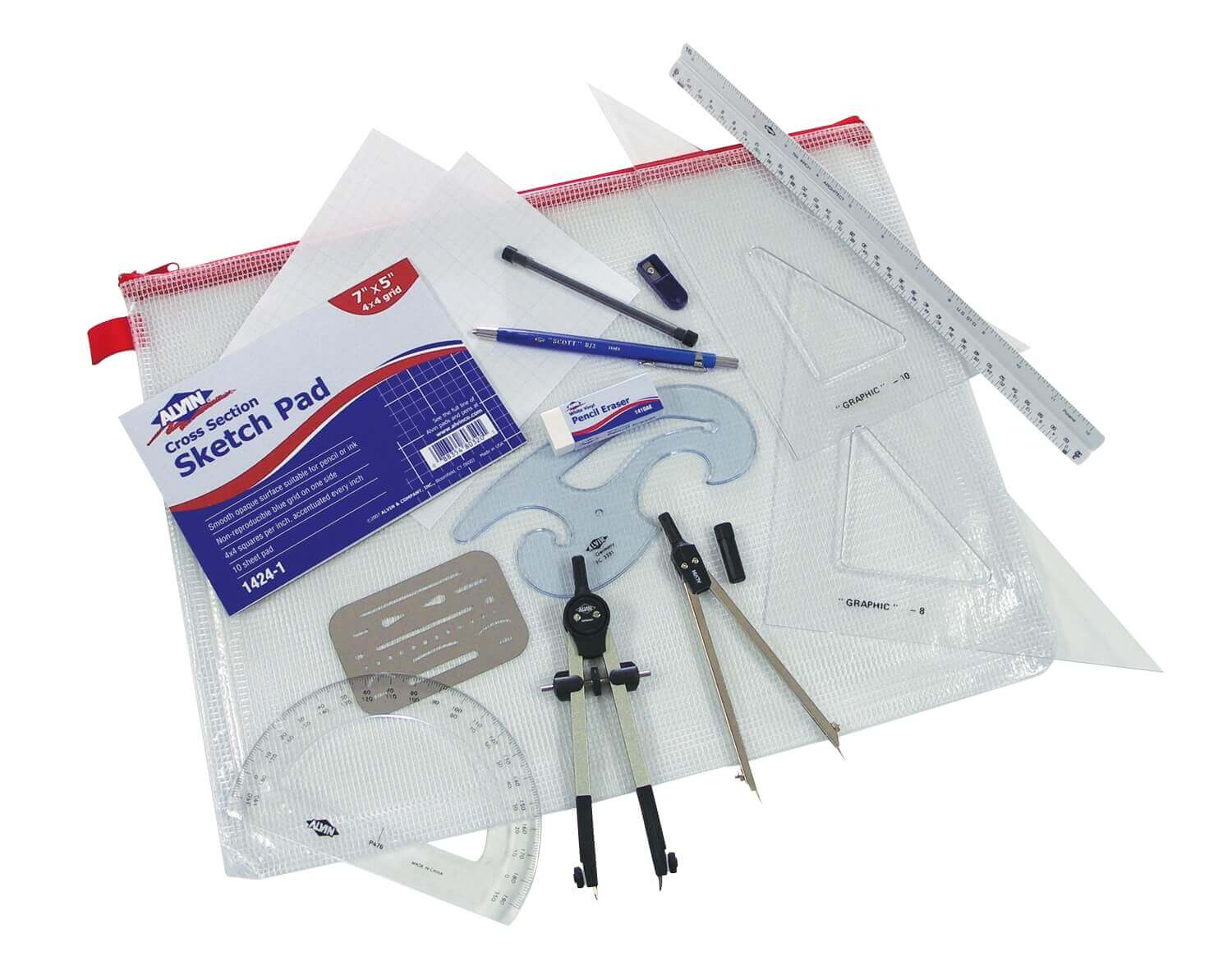 Alvin BDK-1A Architects Drafting Kit ES1095