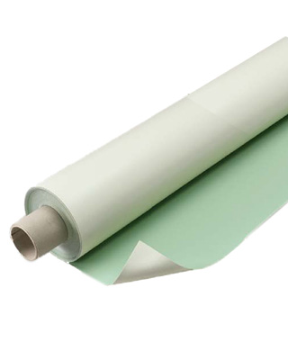 "Alvin Vyco Green/Cream Roll Drafting Board Cover (36"" x 10yd) VBC44/36 ES1447"