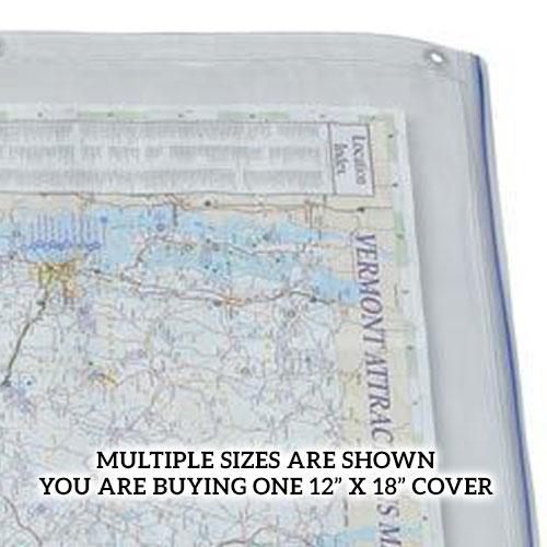 Alvin 12 Quot X 18 Quot Clear Vinyl Blueprint Cover Acp18