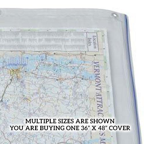 Alvin 36 x 48 clear vinyl blueprint cover acp48 engineersupply condition new malvernweather Choice Image