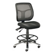 Alvin Argentum Mesh Back Drafting Chair CH728-45DH