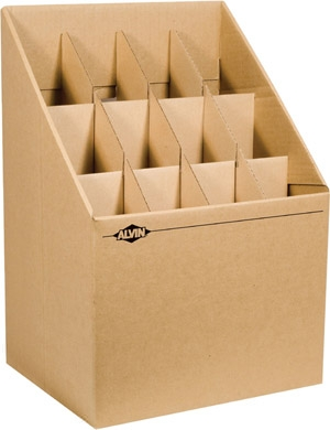 Alvin Blueprint Upright Vertical Roll Storage File Arf12