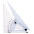 "Alvin 8"" Computing Trig-Scale Adjustable Triangle LX708K ES4931"