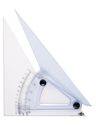 Alvin 10 Computing Trig-Scale Adjustable Triangle ES4932 LX710K