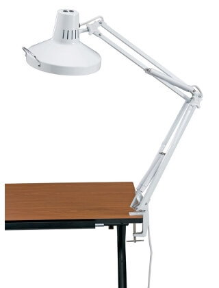 Alvin Swing-Arm Combination Lamp with CFL Bulb (2 Colors Available)