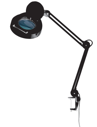 Alvin 1.75X Magnifier Drafting Lamp ML255 (2 Colors Available) ES4949