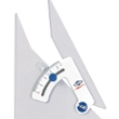 "Alvin Tru-Angle 6"" Adjustable Triangle with Inking Edge 106CB ES5109"