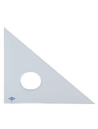 Alvin Clear Professional Acrylic Triangle ES5119