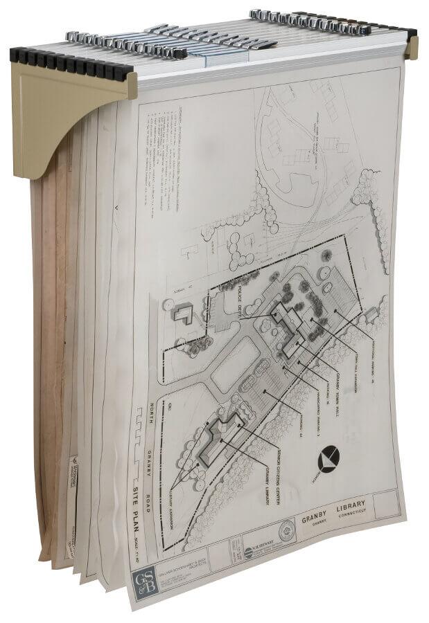 Alvin Wall Rack For Blueprints Bpr030 Engineersupply