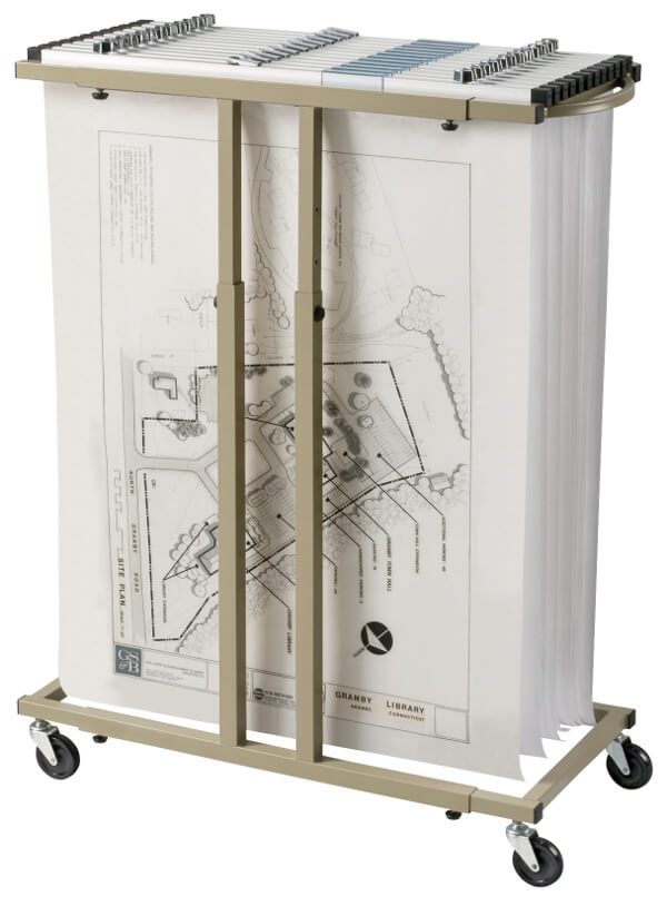 Alvin Mobile Blueprint Rack BPR059 ES5364