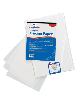 Alvin Traceprint Tracing Paper 100-Sheet Pad ES5389