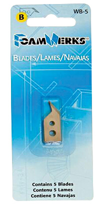 Foamwerks Freestyle Cutter Replacement Blades LWB-5 ES5422