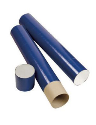 Alvin Indigo Fiberboard Tube 5-1/2 Inch Carton (4 Sizes Available)
