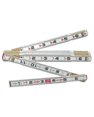 Lufkin 6 Red End Folding Ruler 1066D ES602 1006D