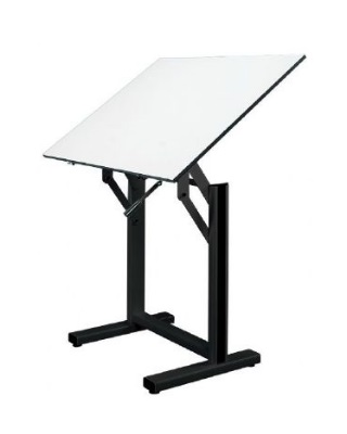 "Alvin EN48-3 - 36"" x 48"" Ensign Drafting Art Table - Black Base ES6678"
