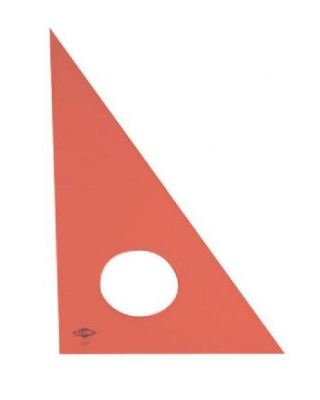 Alvin Fluorescent Professional Acrylic Triangle - 30-60-90 (6 Sizes Available) ES6832