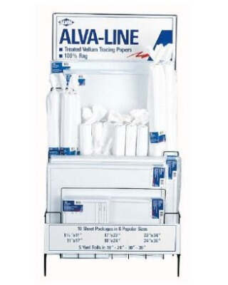 Alvin 6855D - Alva-Line Tracing Line Display ES6983