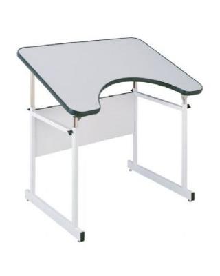 Alvin REFLEX 4 4 Post Reflex Table White Base