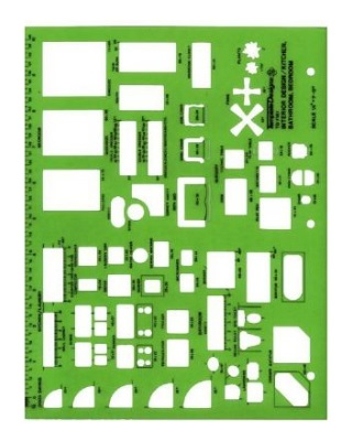 Alvin TD7161 - Interior Design - Kitchen, Bed and Bath Template ES7162