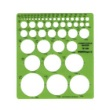 Alvin TD1204 - Circle Master Drafting Template ES7173