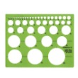 Alvin TD4000 - Circle Guide Drafting Template ES7176