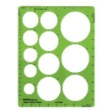Alvin TD495 - Jumbo Circle Guide Drafting Template ES7178